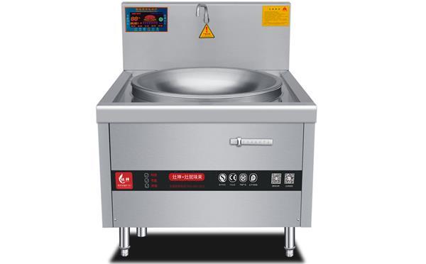 大型食堂厨房电磁大功率煲仔炉_学校食堂智能煲仔炉